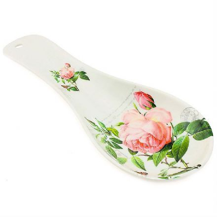 Redoute Rose Spoon Rest